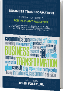 John Foley Jr business transformation  in-plant book cover